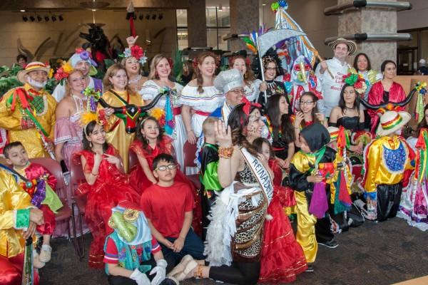 Carnaval de Barranquilla Barakoa participation 2015
